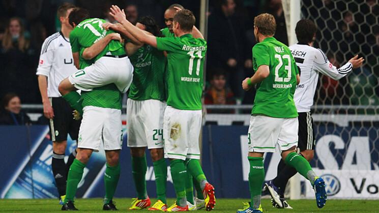 Werder Wolfsburg Highlights
