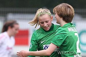 In den folgenden drei Spielzeiten kam König, die aus Bremerhaven stammt, in Fahrt: 5 Tore (2010/2011), 2 Tore (2011/2012) und 15 Tore (2012/2013) in der Liga folgten…