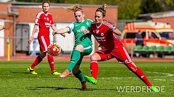 Bis zu ihrem ersten Treffer in der höchsten Spielklasse dauerte es: Am 17.04.2016 traf sie zum 1:0-Erfolg gegen den SC Sand.