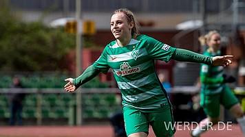 Ganze 13 Ligatreffer sowie vier Pokaltore steuerte Cindy König im Wiederaufstiegsjahr 2017 bei. Im DFB-Pokal der Frauen traf sie im Übrigen 13 Mal.